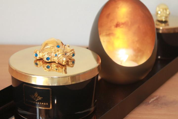 Floressense - Bougie décorative luxe - Bougie parfumée luxe - Bougie bijou luxe