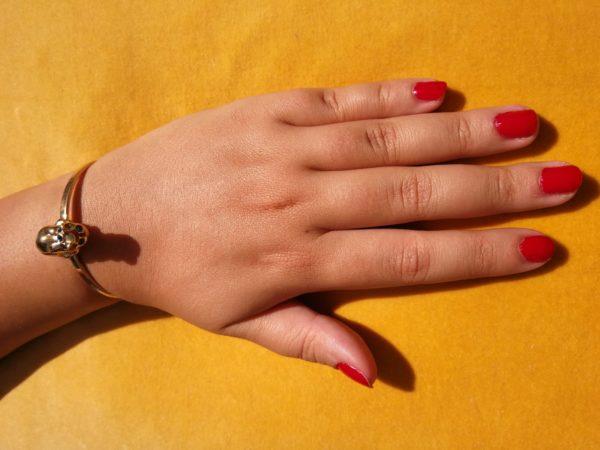 Eva Segoura - bijoux fantaisie animaux - bracelet chat or