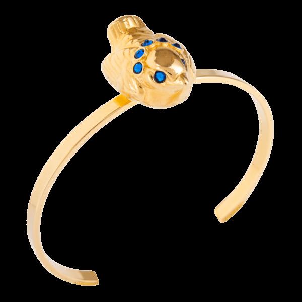 Eva Segoura - bijoux fantaisie animaux - bracelet oiseau or